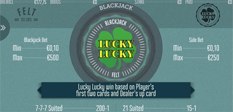 Lucky Lucky Blackjack Side Bet