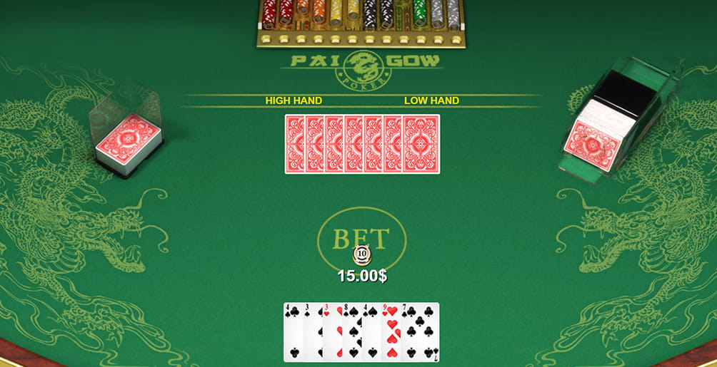 Pai Gow Table Layout