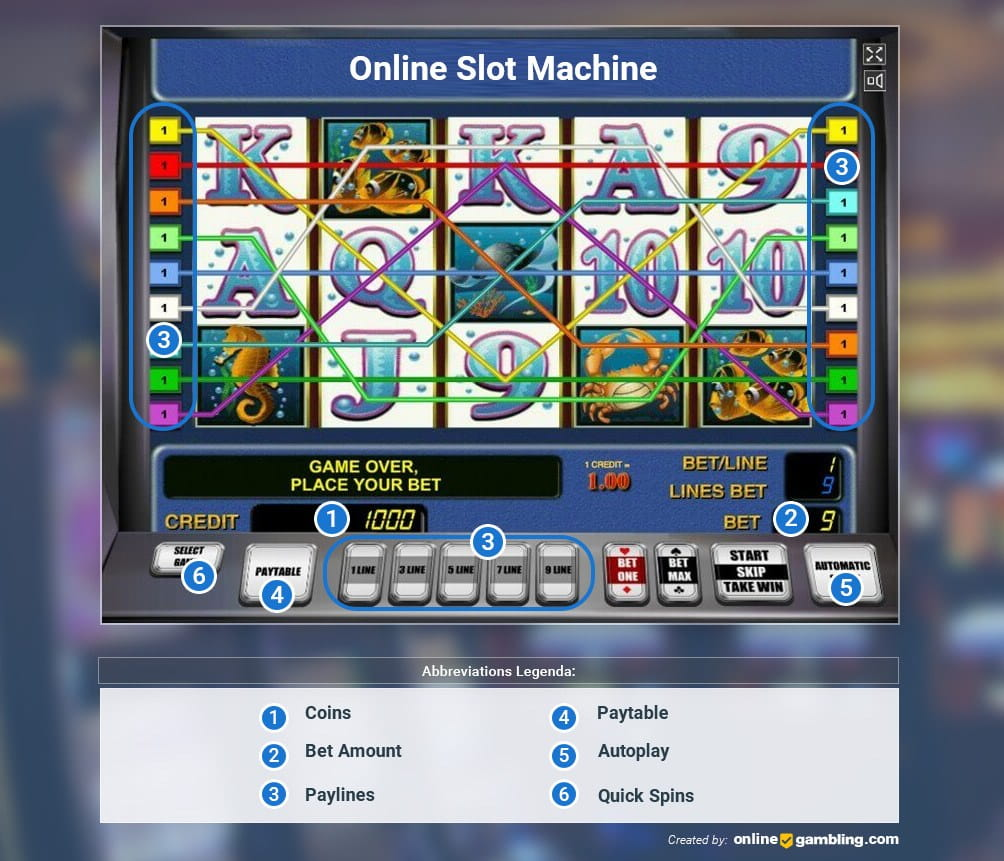 Slot Game Layout and Its Components