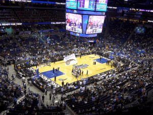 The home court of the NBA's Orlando Magic