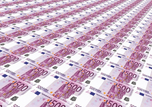 euro notes in production
