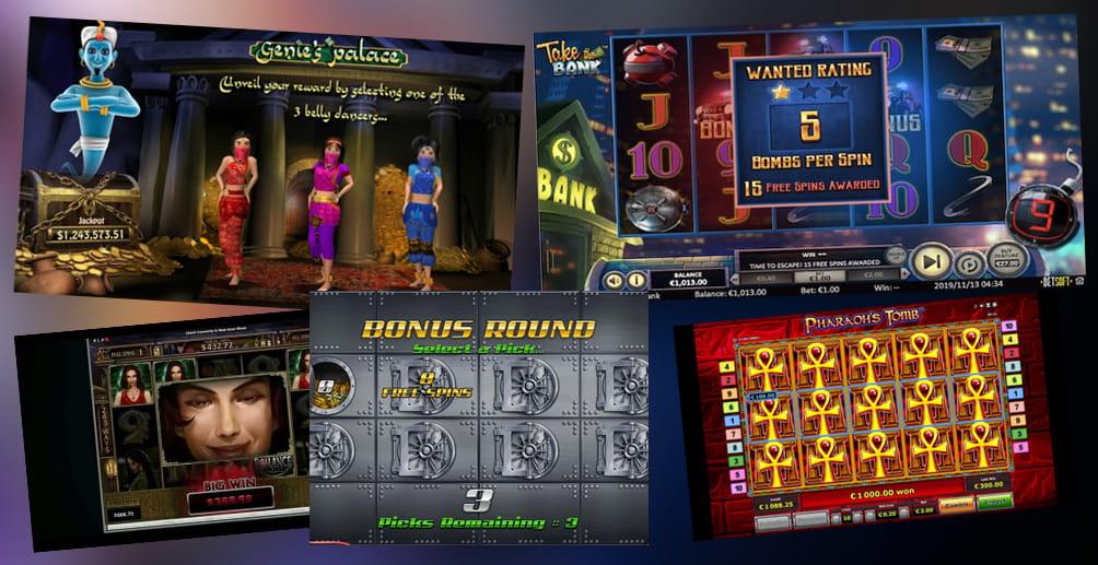 Free Slots With Bonus Feature