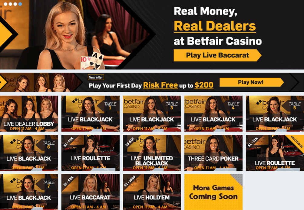 Pennsylvania Live Dealers Online