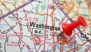 A Pin on Washington DC City Map