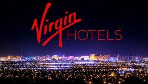 Virgin Hotels Logo Selama Malam Las Vegas