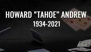 Legenda Poker Howard Andrew Sekarang Mati
