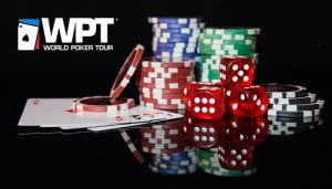 Kartu dan Dadu Chip Tur Poker Dunia