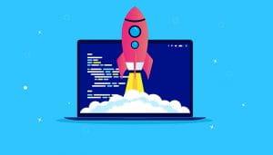 Roket Luar Angkasa Lepas dari Komputer