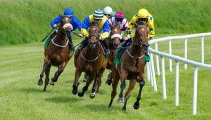 Pacuan Kuda dalam Aksi